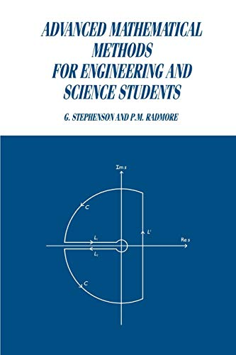 9780521368605: Advanced Mathematical Methods for Engineering and Science Students
