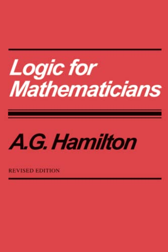 9780521368650: Logic for Mathematicians