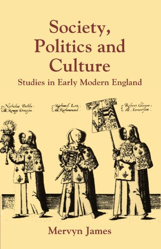 9780521368773: Society, Politics and Culture: Studies in Early Modern England (Past and Present Publications)