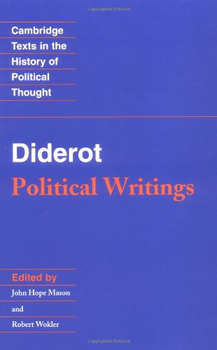9780521369114: Diderot: Political Writings (Cambridge Texts in the History of Political Thought)