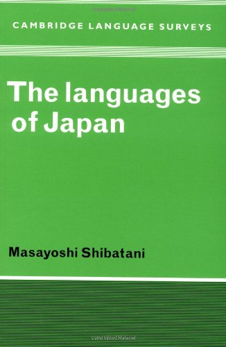 9780521369183: The Languages of Japan