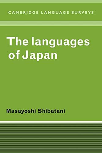 9780521369183: The Languages of Japan (Cambridge Language Surveys)