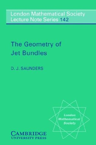9780521369480: The Geometry of Jet Bundles (London Mathematical Society Lecture Note Series)