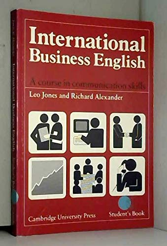 9780521369572: International Business English Student's book: A Course in Communication Skills