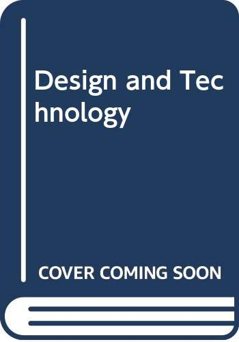 9780521369695: Design and Technology