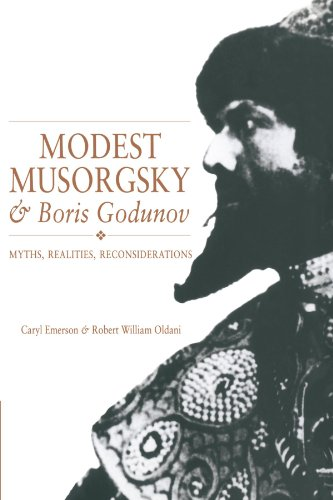 9780521369763: Modest Musorgsky and Boris Godunov Paperback: Myths, Realities, Reconsiderations (Cambridge Opera Handbooks)