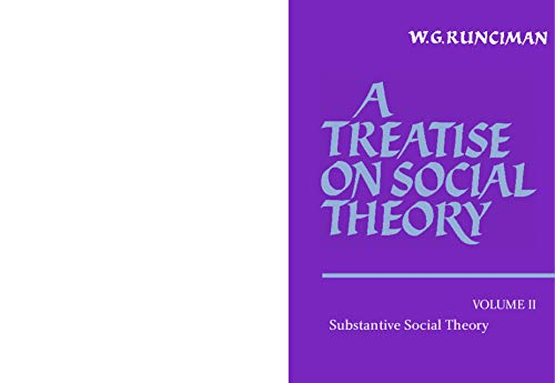 9780521369831: A Treatise on Social Theory (Volume 2)