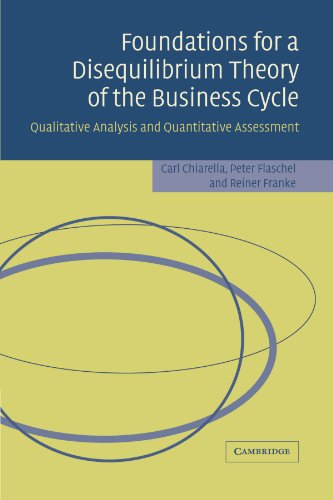 9780521369923: Foundations for a Disequilibrium Theory of the Business Cycle: Qualitative Analysis and Quantitative Assessment