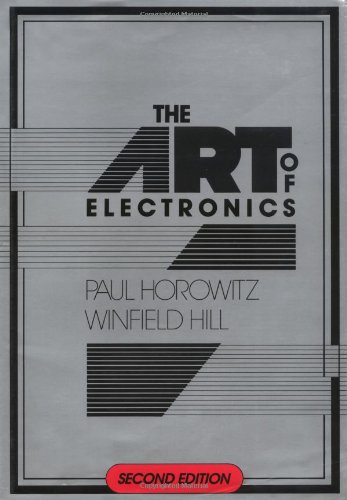 The Art of Electronics 9780521370950 This is the thoroughly revised and updated second edition of the hugely successful The Art of Electronics. Widely accepted as the authoritative text and reference on electronic circuit design, both analog and digital, this book revolutionized the teaching of electronics by emphasizing the methods actually used by circuit designers -- a combination of some basic laws, rules of thumb, and a large bag of tricks. The result is a largely nonmathematical treatment that encourages circuit intuition, brainstorming, and simplified calculations of circuit values and performance. The new Art of Electronics retains the feeling of informality and easy access that helped make the first edition so successful and popular. It is an ideal first textbook on electronics for scientists and engineers and an indispensable reference for anyone, professional or amateur, who works with electronic circuits.