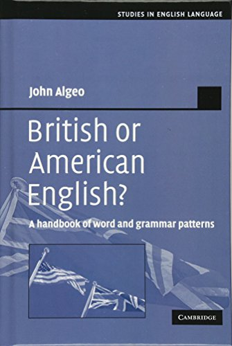 9780521371377: British or American English?: A Handbook of Word and Grammar Patterns
