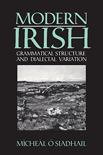 9780521371476: Modern Irish: Grammatical Structure and Dialectal Variation (Cambridge Studies in Linguistics)