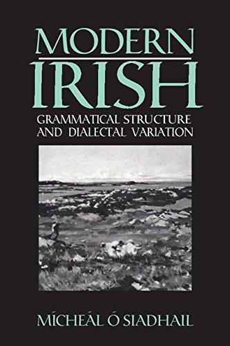 9780521371476: Modern Irish: Grammatical Structure and Dialectal Variation (Cambridge Studies in Linguistics)