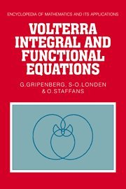 9780521372893: Volterra Integral and Functional Equations (Encyclopedia of Mathematics and its Applications)