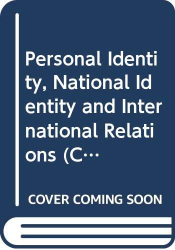 9780521373166: Personal Identity, National Identity and International Relations (Cambridge Studies in International Relations)