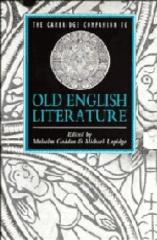 9780521374385: The Cambridge Companion to Old English Literature (Cambridge Companions to Literature)