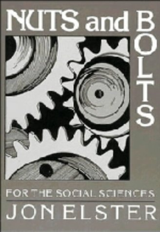 9780521374552: Nuts and Bolts for the Social Sciences