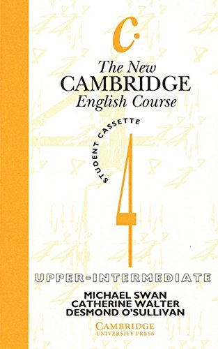 9780521375092: The New Cambridge English Course 4 Student's Cassette