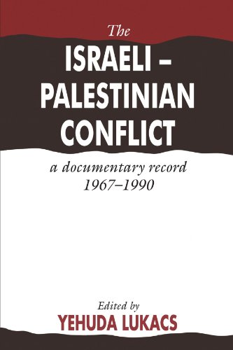 9780521375979: The Israeli-Palestinian Conflict: A Documentary Record, 1967-1990