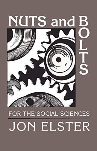 9780521376068: Nuts and Bolts for the Social Sciences Paperback
