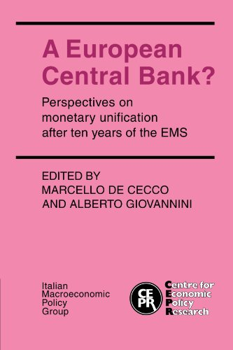 9780521376235: A European Central Bank?: Perspectives on Monetary Unification after Ten Years of the EMS
