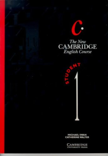 9780521376372: The New Cambridge English Course 1 Student's book (Bk. 1)