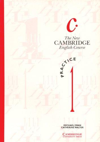 9780521376495: The New Cambridge English Course 1 Practice book: Practice Bk Level 1