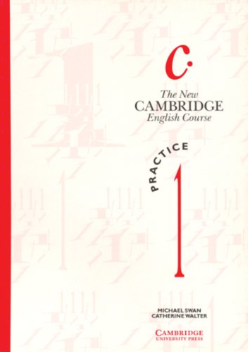 9780521376495: The New Cambridge English Course 1 Practice book