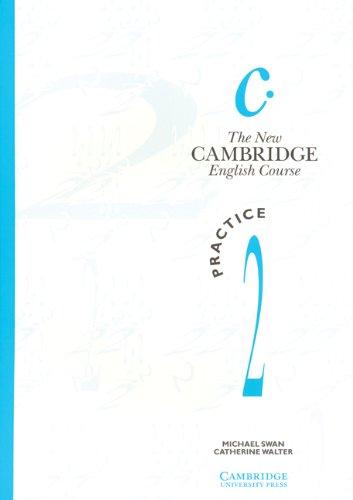 9780521376501: The New Cambridge English Course 2 Practice book