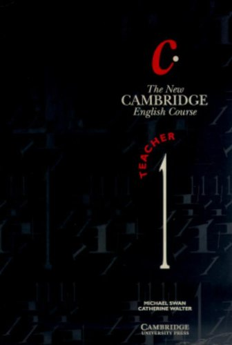 New cambridge e.course 1.tchs.profesor: Swan, Michael/Walter, Catherine