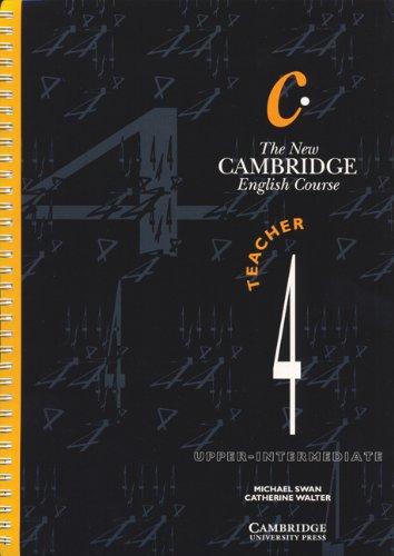 9780521376686: The New Cambridge English Course 4 Teacher's book: Level 4