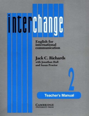 9780521376822: Interchange 2 Teacher's manual: English for International Communication: Tchrs' Level 2