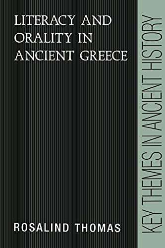 9780521377423: Literacy and Orality in Ancient Greece (Key Themes in Ancient History)