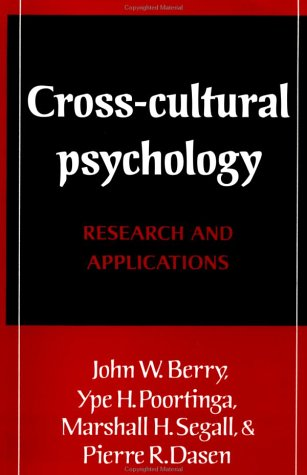 9780521377614: Cross-Cultural Psychology: Research and Applications