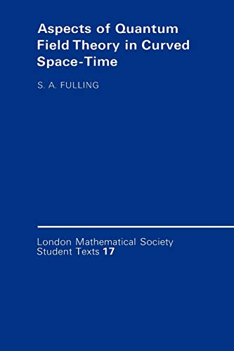 9780521377683: Aspects of Quantum Field Theory in Curved Spacetime
