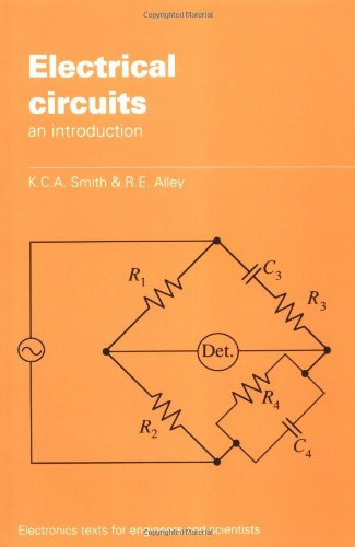 9780521377690: Electrical Circuits: An Introduction (Electronics Texts for Engineers and Scientists)