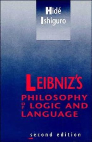 9780521377812: Leibniz's Philosophy of Logic and Language 2nd Edition Paperback