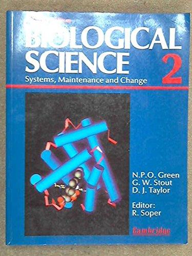 9780521377850: Biological Science: Volume 2