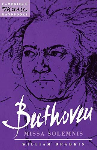 9780521378314: Beethoven: Missa Solemnis (Cambridge Music Handbooks)