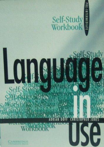 9780521378529: Language in Use Pre-intermediate Self-study workbook