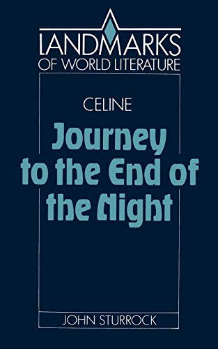 9780521378543: C�line: Journey to the End of the Night