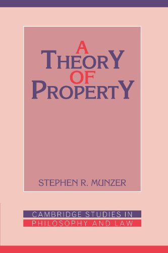 9780521378864: A Theory of Property (Cambridge Studies in Philosophy and Law)