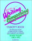 9780521379380: From Writing to Composing Student's book: An Introductory Composition Course for Students of English