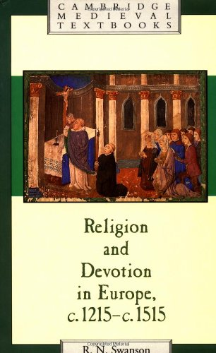 9780521379502: Religion and Devotion in Europe, c.1215- c.1515
