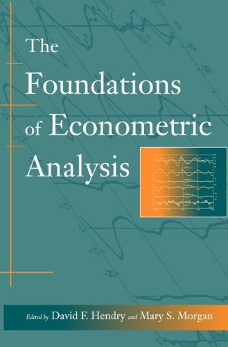 9780521380430: The Foundations of Econometric Analysis