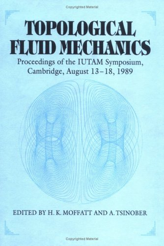 9780521381451: Topological Fluid Mechanics: Proceedings of the IUTAM Symposium, Cambridge, UK, 13-18 August, 1989