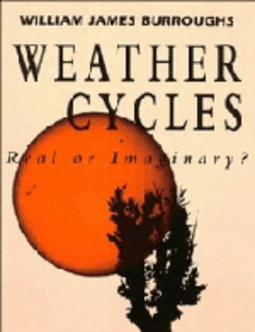 9780521381789: Weather Cycles: Real or Imaginary?