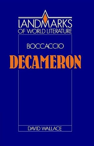9780521381826: Boccaccio: Decameron (Landmarks of World Literature)