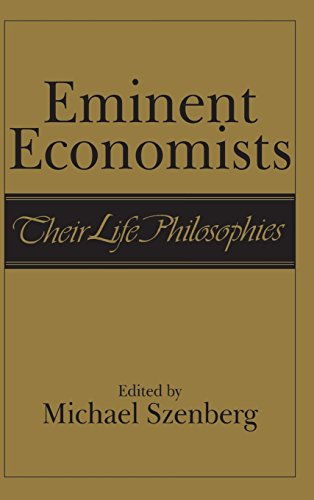 9780521382120: Eminent Economists Hardback: Their Life Philosophies