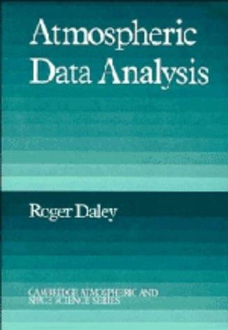 9780521382151: Atmospheric Data Analysis (Cambridge Atmospheric and Space Science Series)