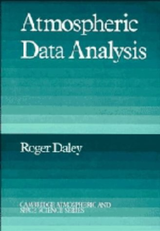 9780521382151: Atmospheric Data Analysis (Cambridge Atmospheric and Space Science Series)